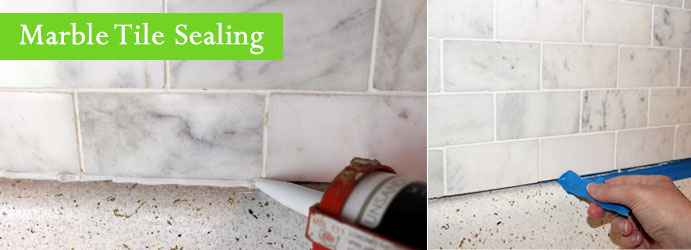 Marble Tiles Sealing Black Springs