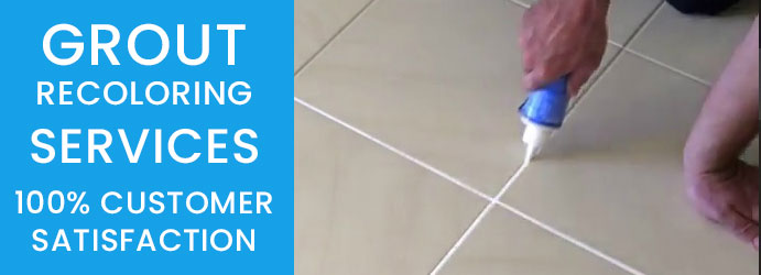 Grout Recoloring Services Melbourne